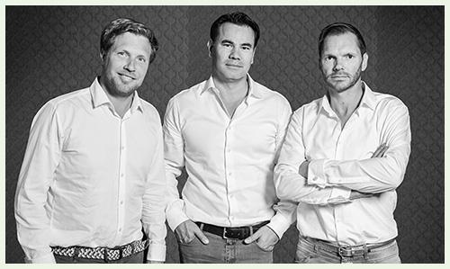 Deine Franchise-Partner: Jan Marin, Frank Stebisch und Timo Hempel